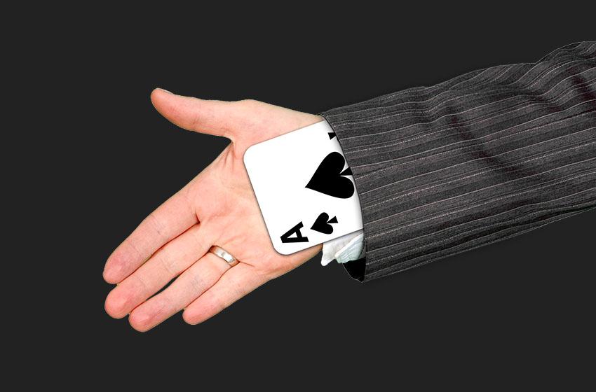Чтение рук в онлайн покере