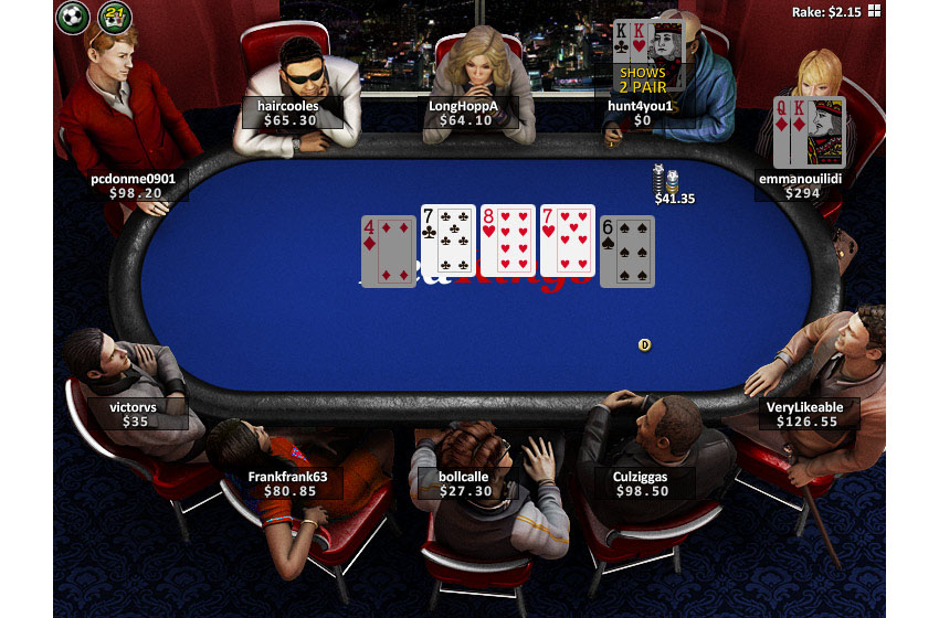 Стол Pokerkings