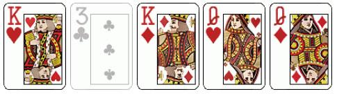 Комбинация Две Пары в покере